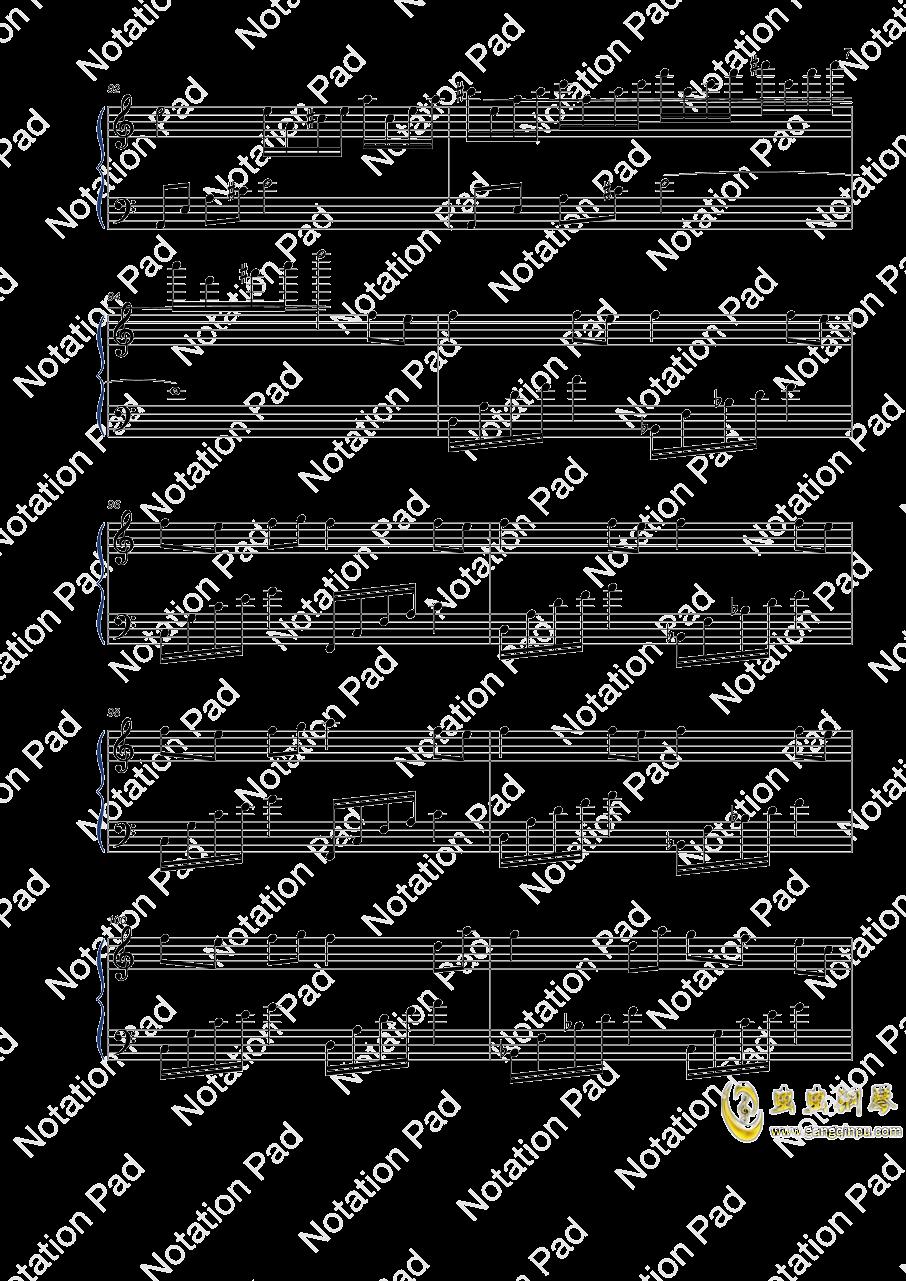 迷鸟钢琴谱 第7页