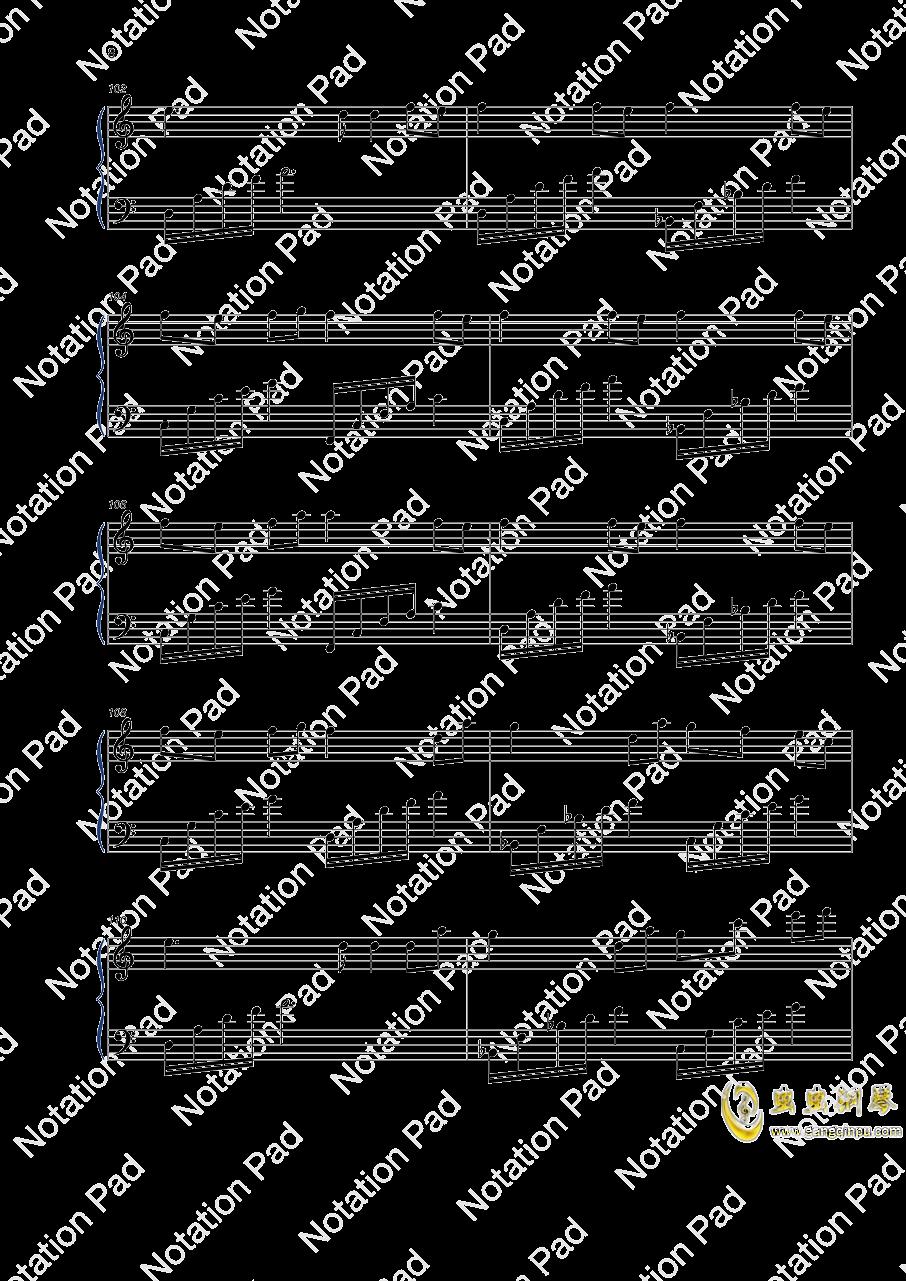 迷鸟钢琴谱 第8页