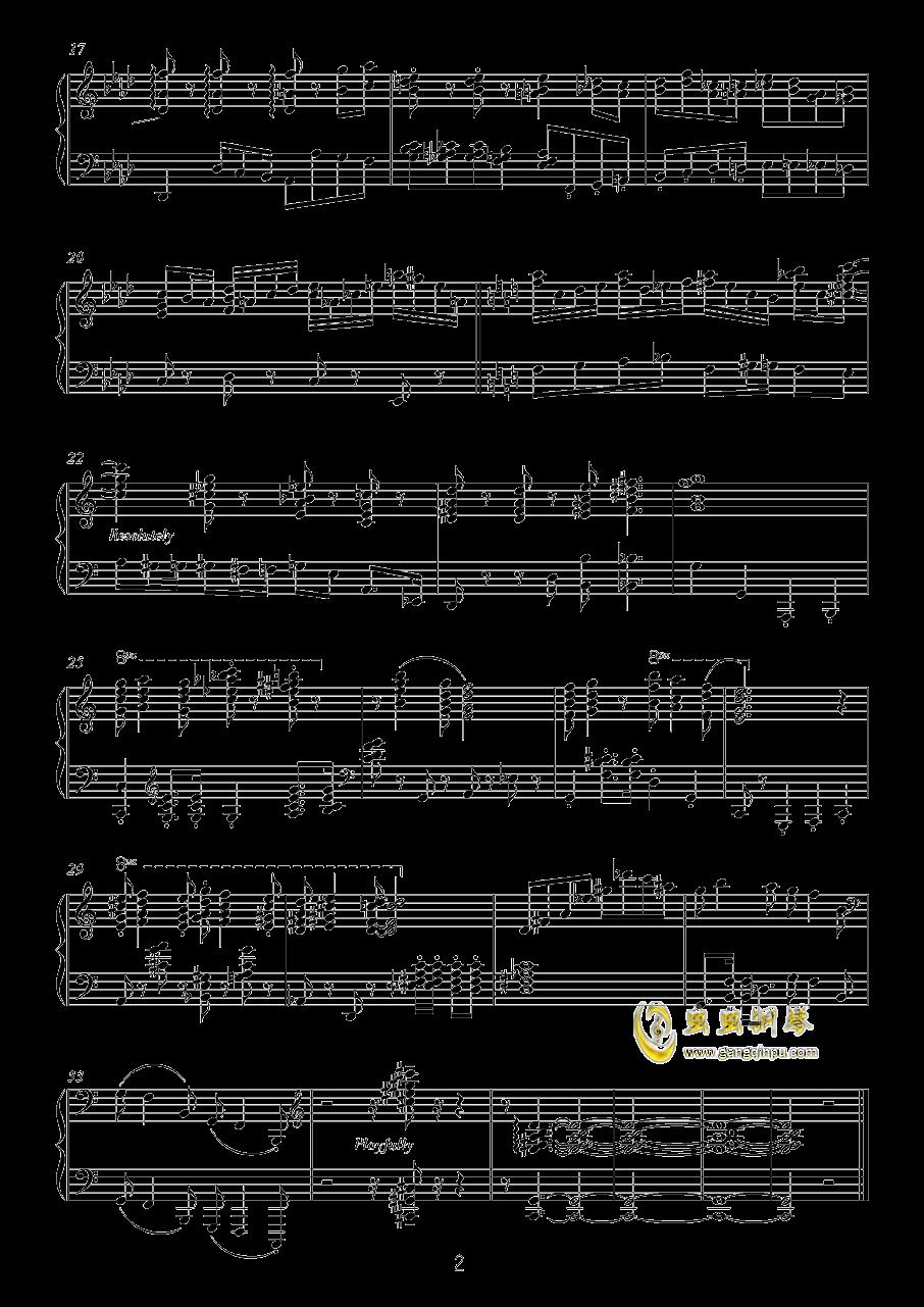 献给孩子们(I)钢琴谱 第2页