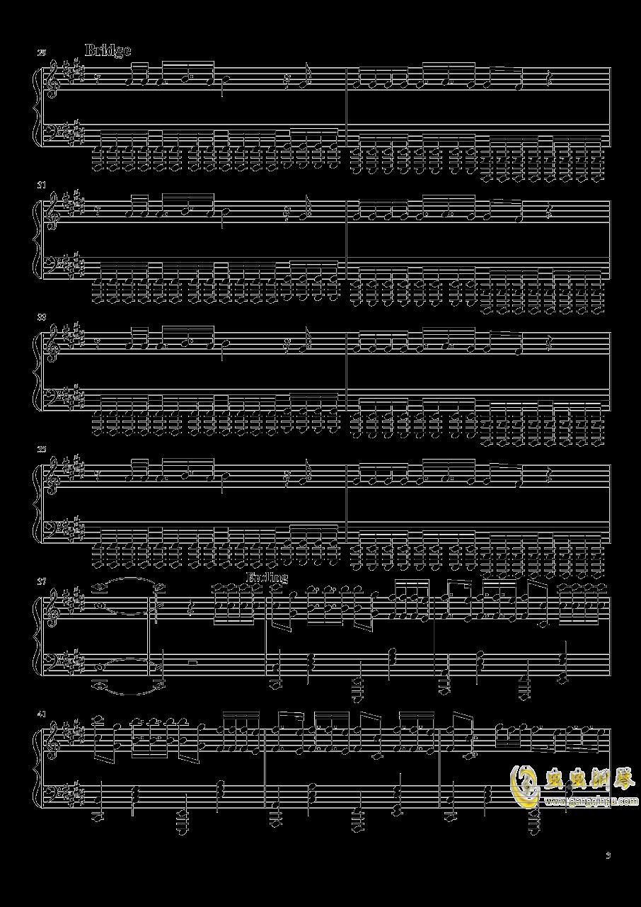 east of eden钢琴谱