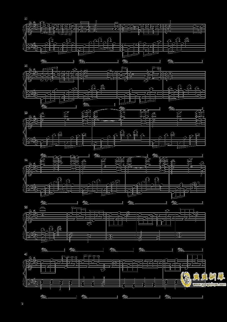 十二钢琴谱 第2页