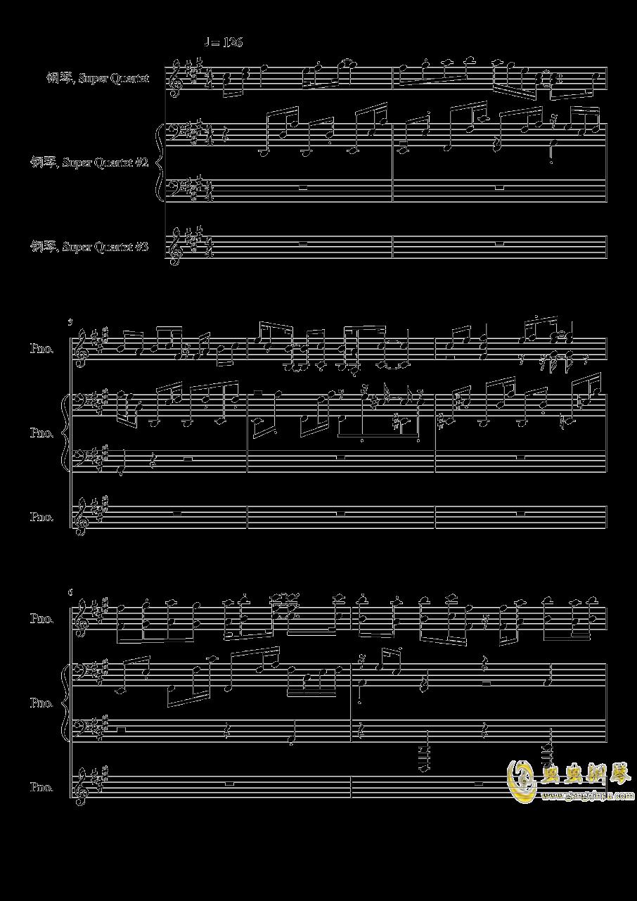 【东方project/�|方peoject】天真无邪的二人博物志钢琴谱 第1页
