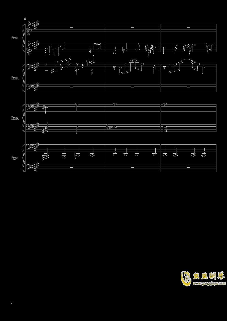 【东方project/�|方project】钢琴谱 第2页