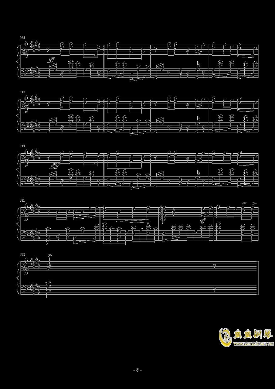 Shape Of You钢琴谱 第8页