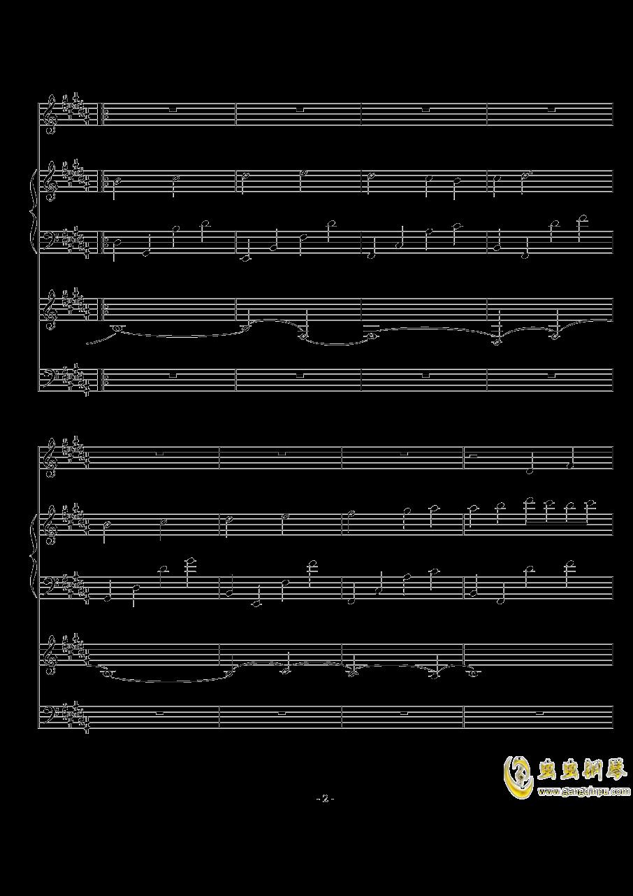 The Scale Theme钢琴谱 第2页