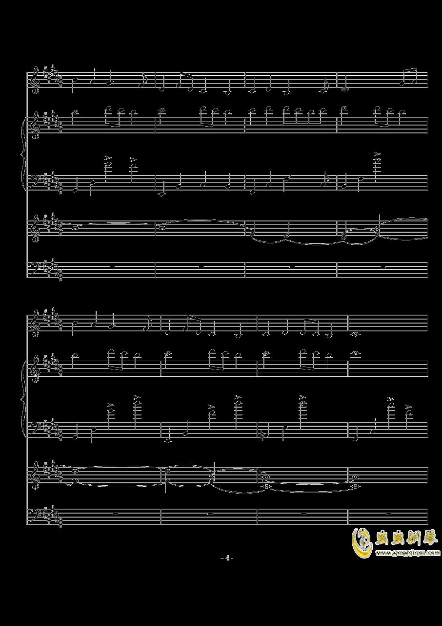 The Scale Theme钢琴谱 第4页