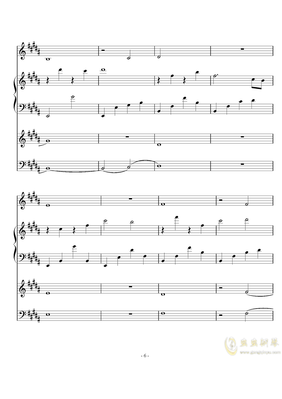 The Scale Theme钢琴谱 第6页