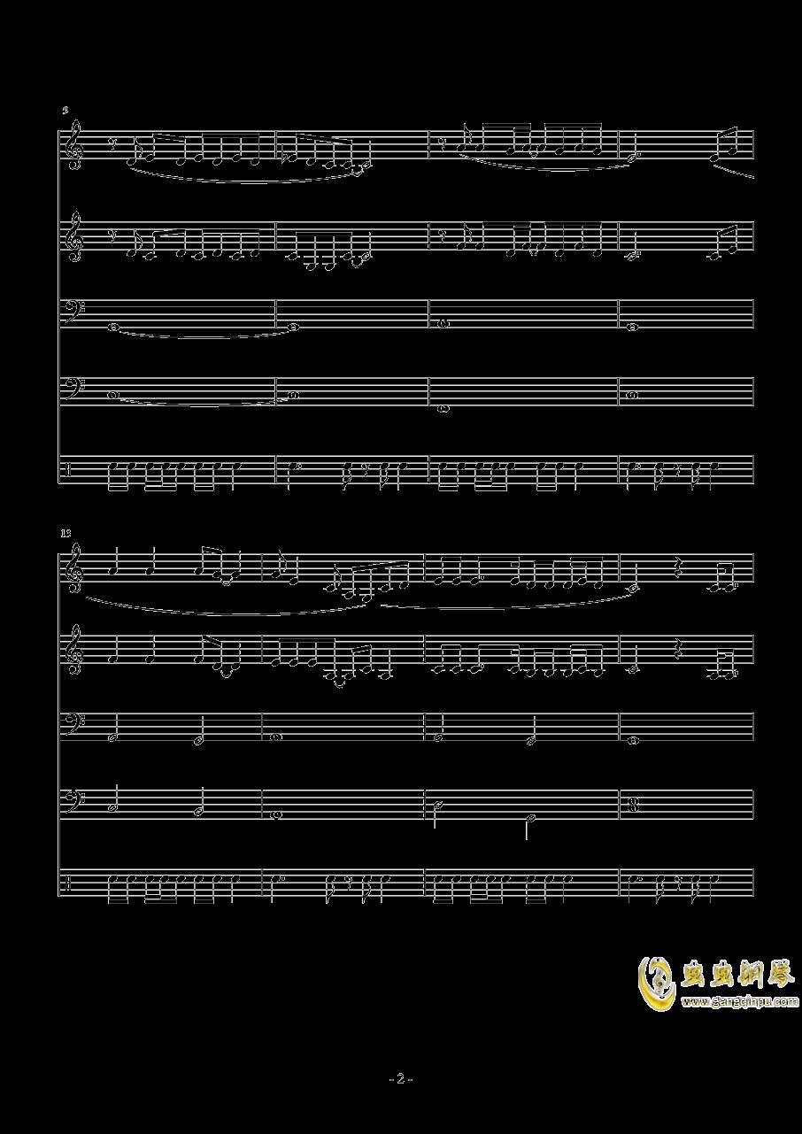 when i钢琴谱 第2页