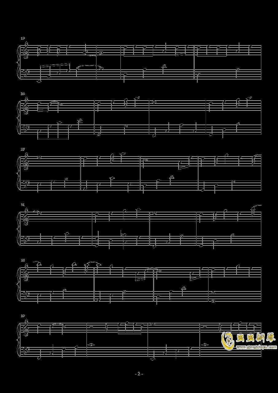 关键词钢琴谱 第2页