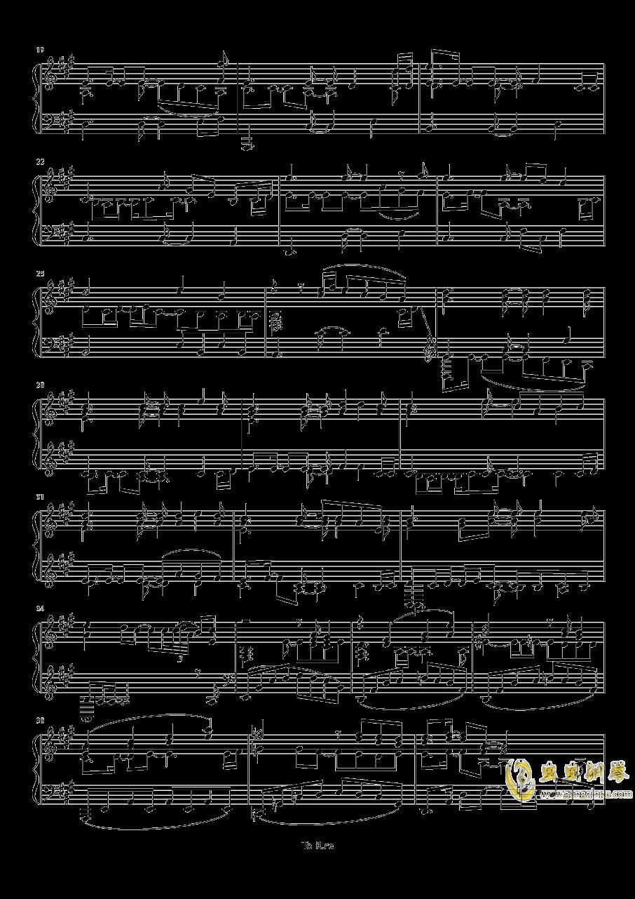 Sonw Fairy Story钢琴谱 第2页