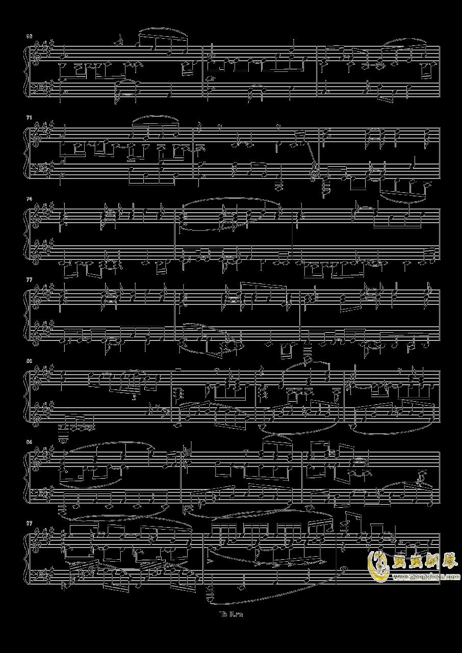 Sonw Fairy Story钢琴谱 第4页