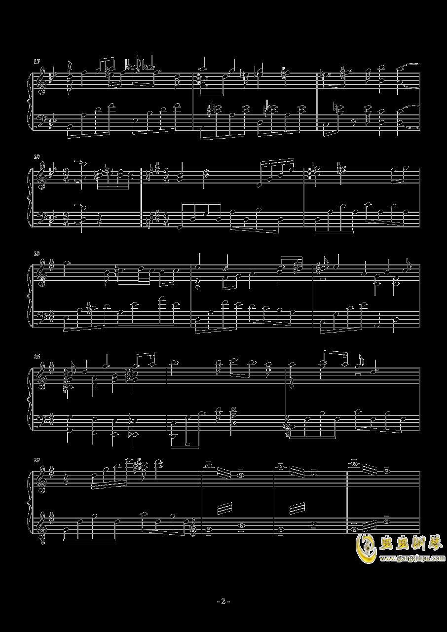 Dreamy Flight钢琴谱 第2页