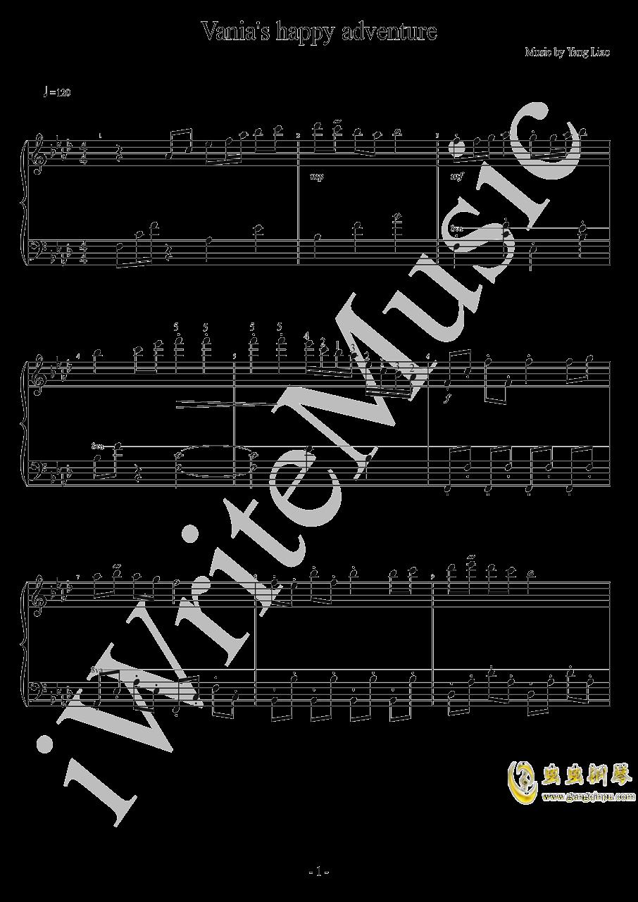 [影之诗shadowverse]斑比的快乐冒险钢琴谱 第1页