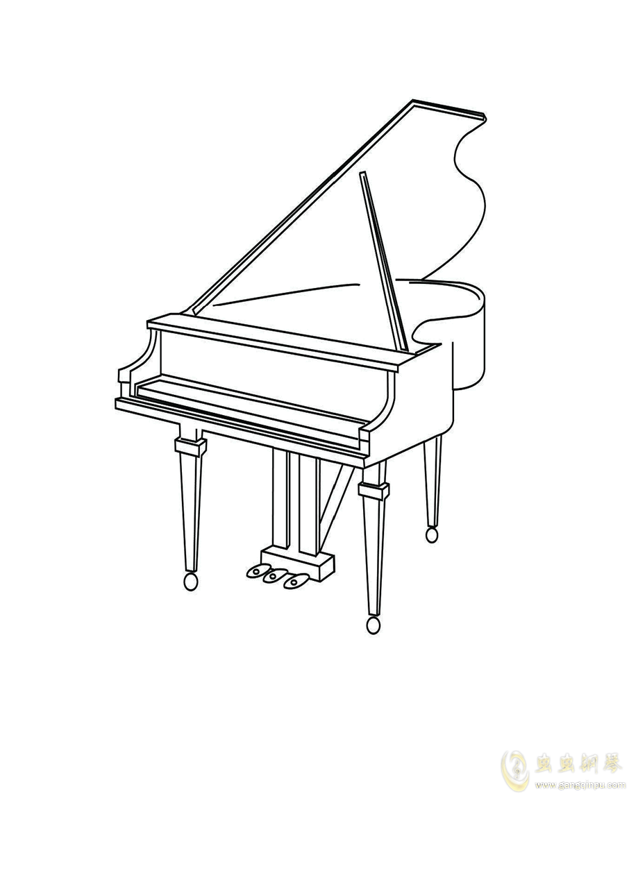 梦回古典钢琴谱 第1页