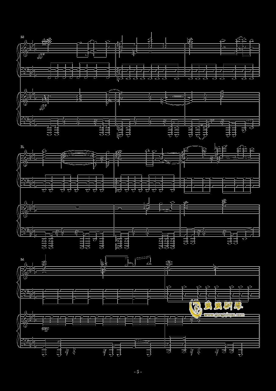 尸体派对钢琴谱 第5页