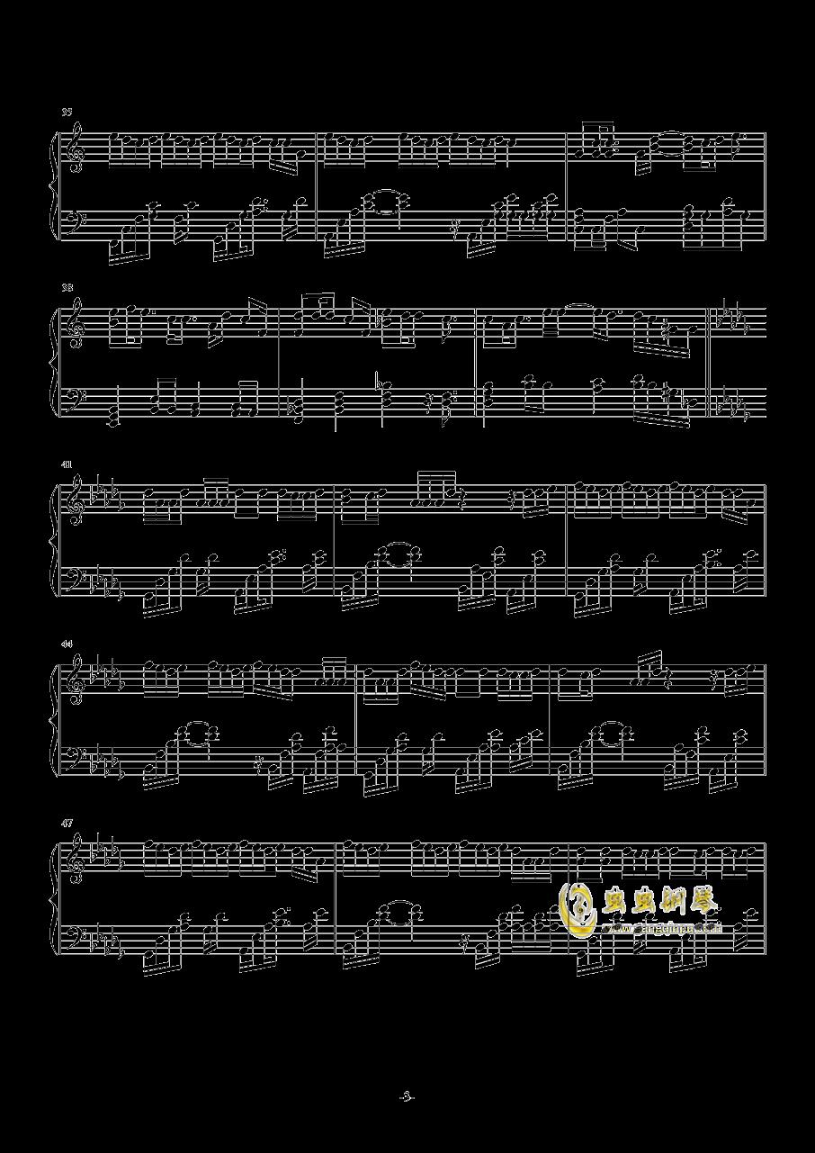 怎么你的手机要响钢琴谱 第3页