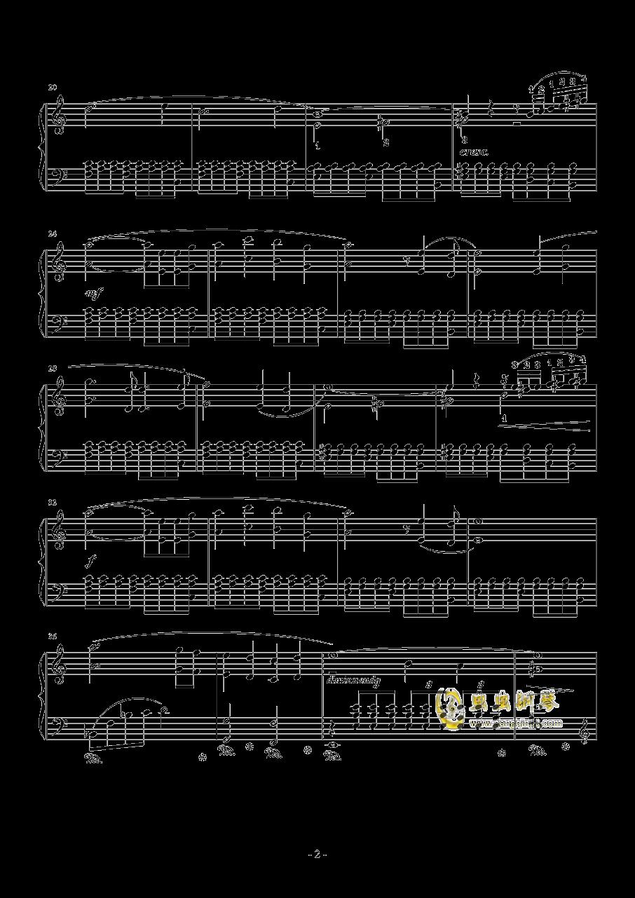 �Lの追��~悠久の�L�徽h~钢琴谱 第2页