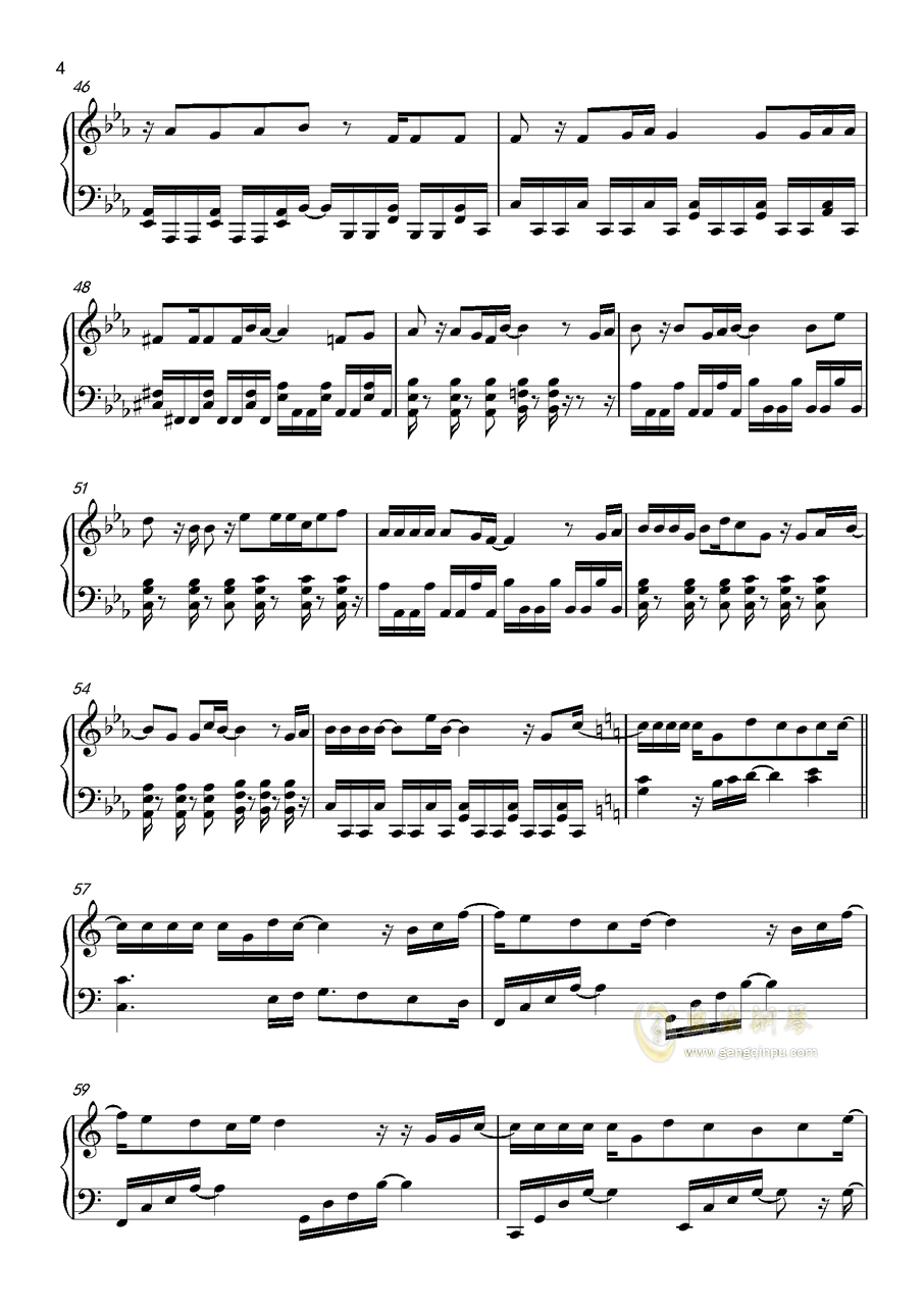 HEART→BEATER!!!!钢琴谱 第4页