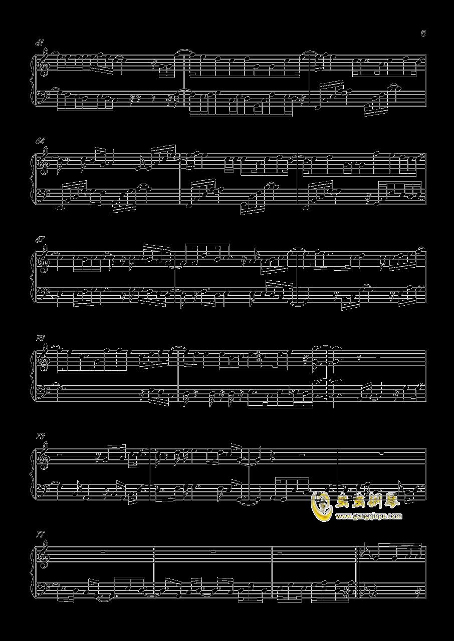 HEART→BEATER!!!!钢琴谱 第5页