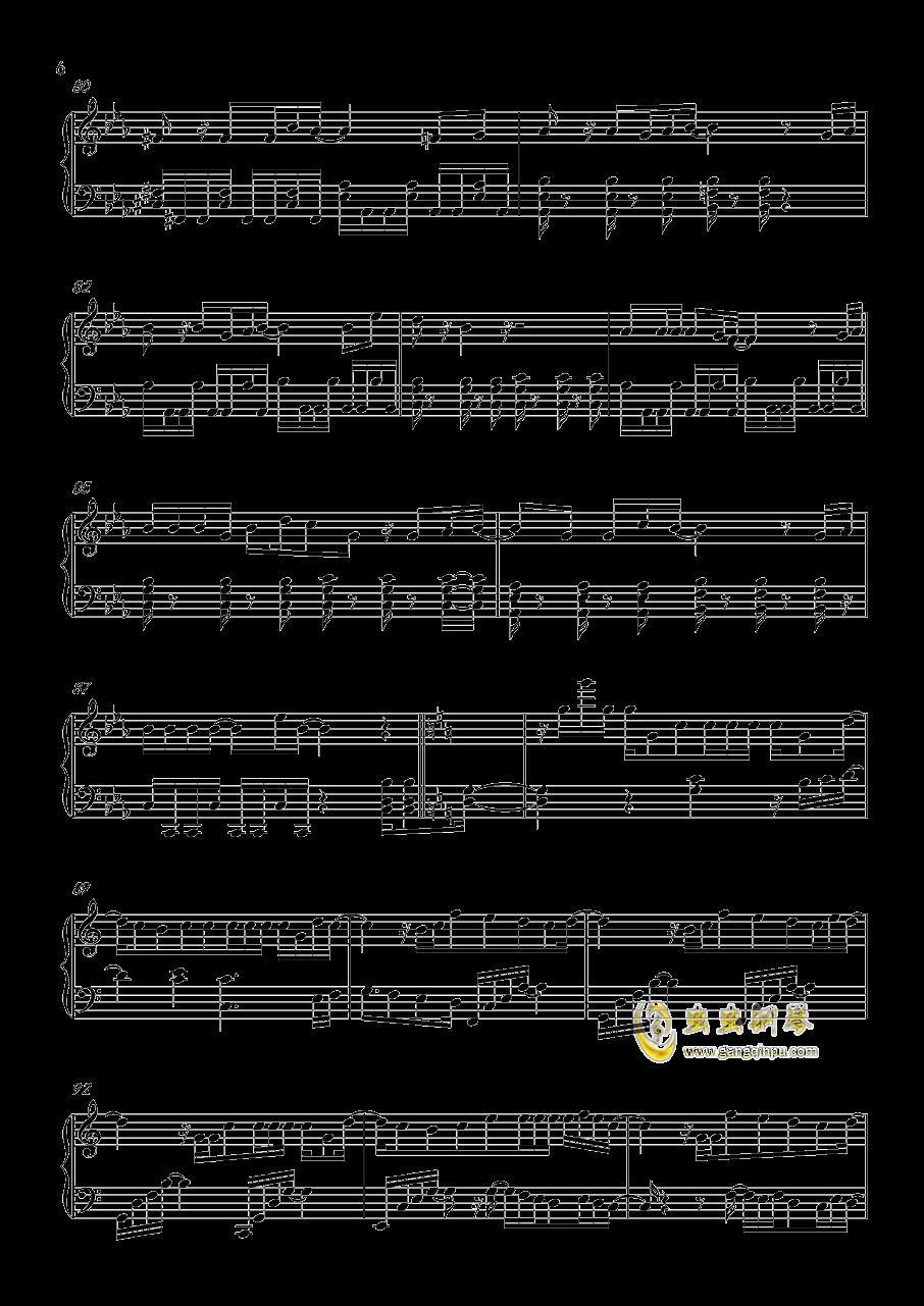 HEART→BEATER!!!!钢琴谱 第6页
