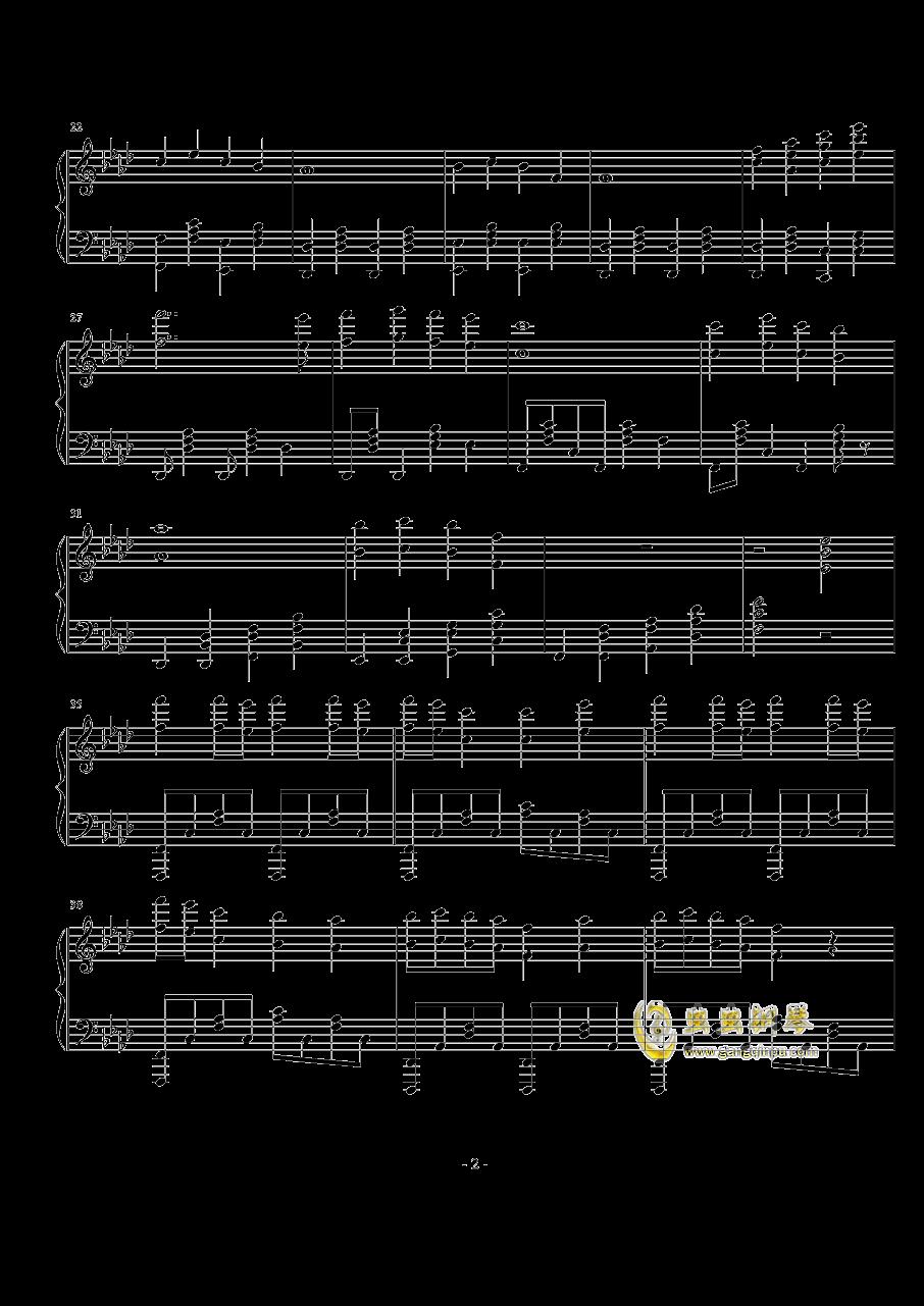TheFatRat-no no no钢琴谱 第2页
