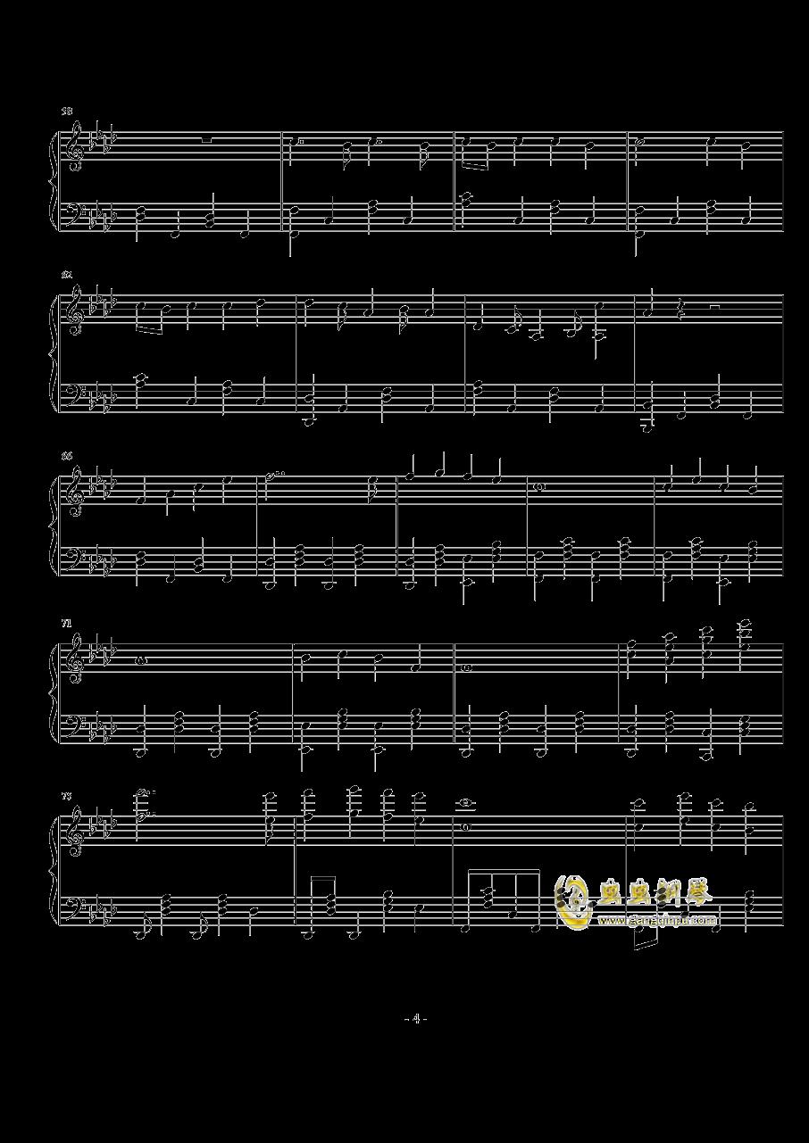 TheFatRat-no no no钢琴谱 第4页
