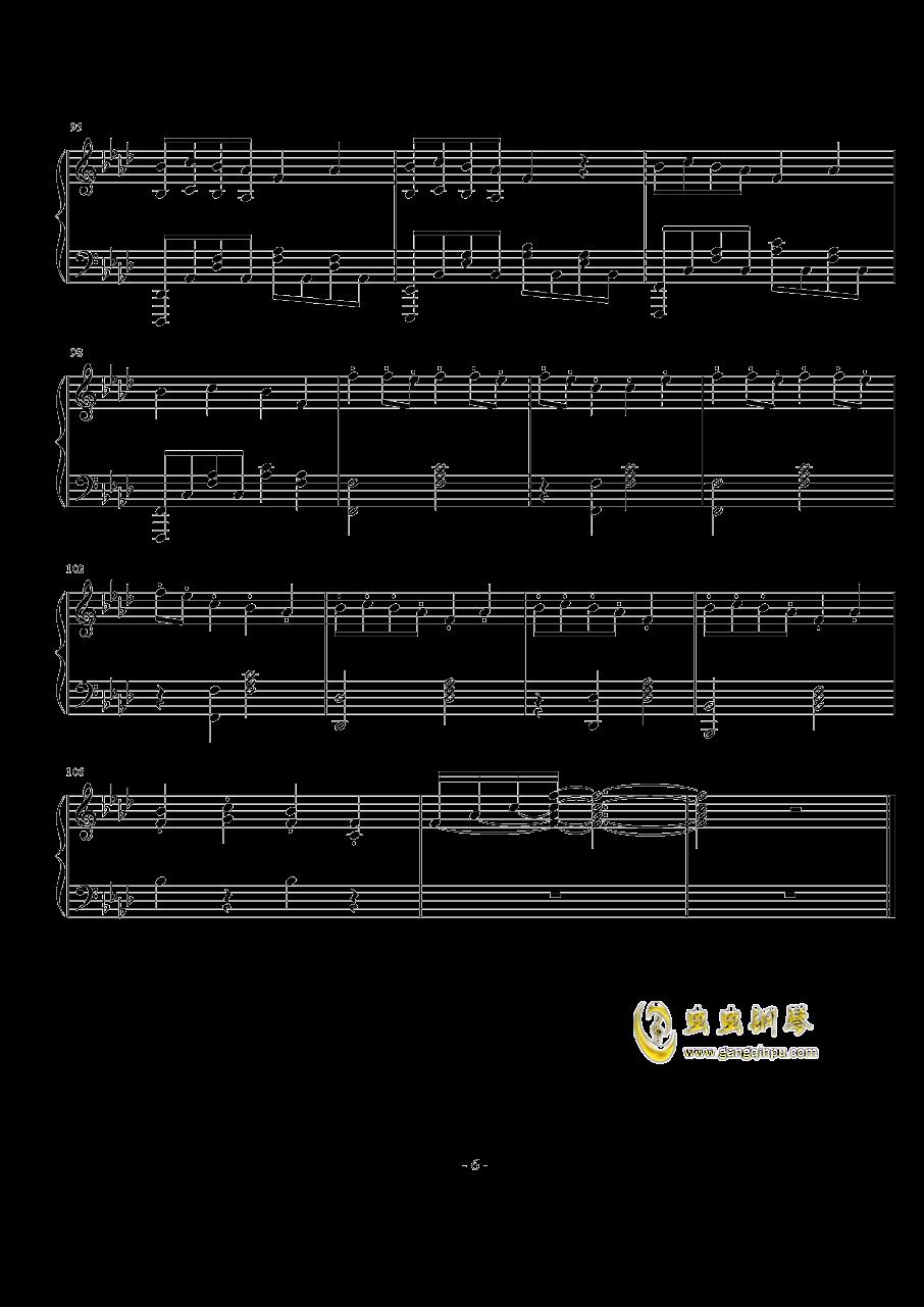 TheFatRat-no no no钢琴谱 第6页