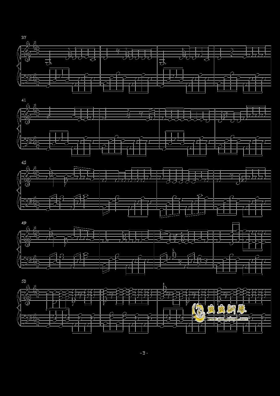 Something just like this钢琴谱 第3页