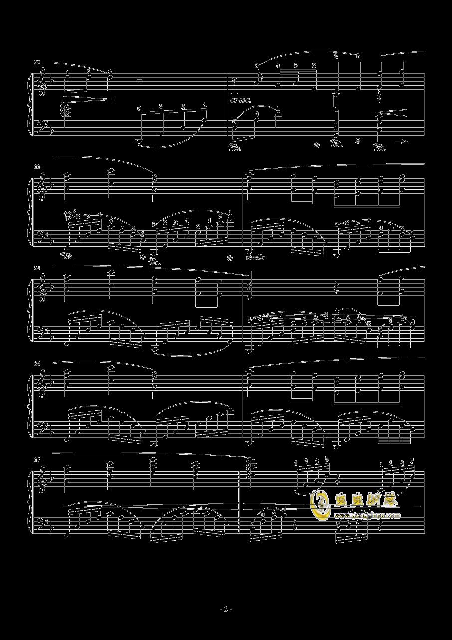 素�长坤� Orchestra Version钢琴谱 第2页
