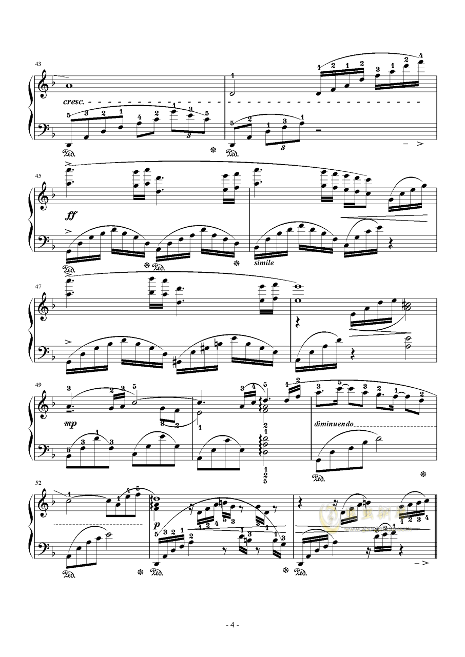 素�长坤� Orchestra Version钢琴谱 第4页