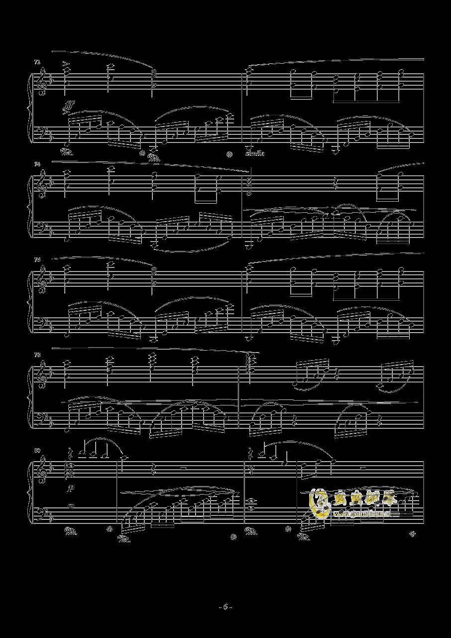 素�长坤� Orchestra Version钢琴谱 第6页