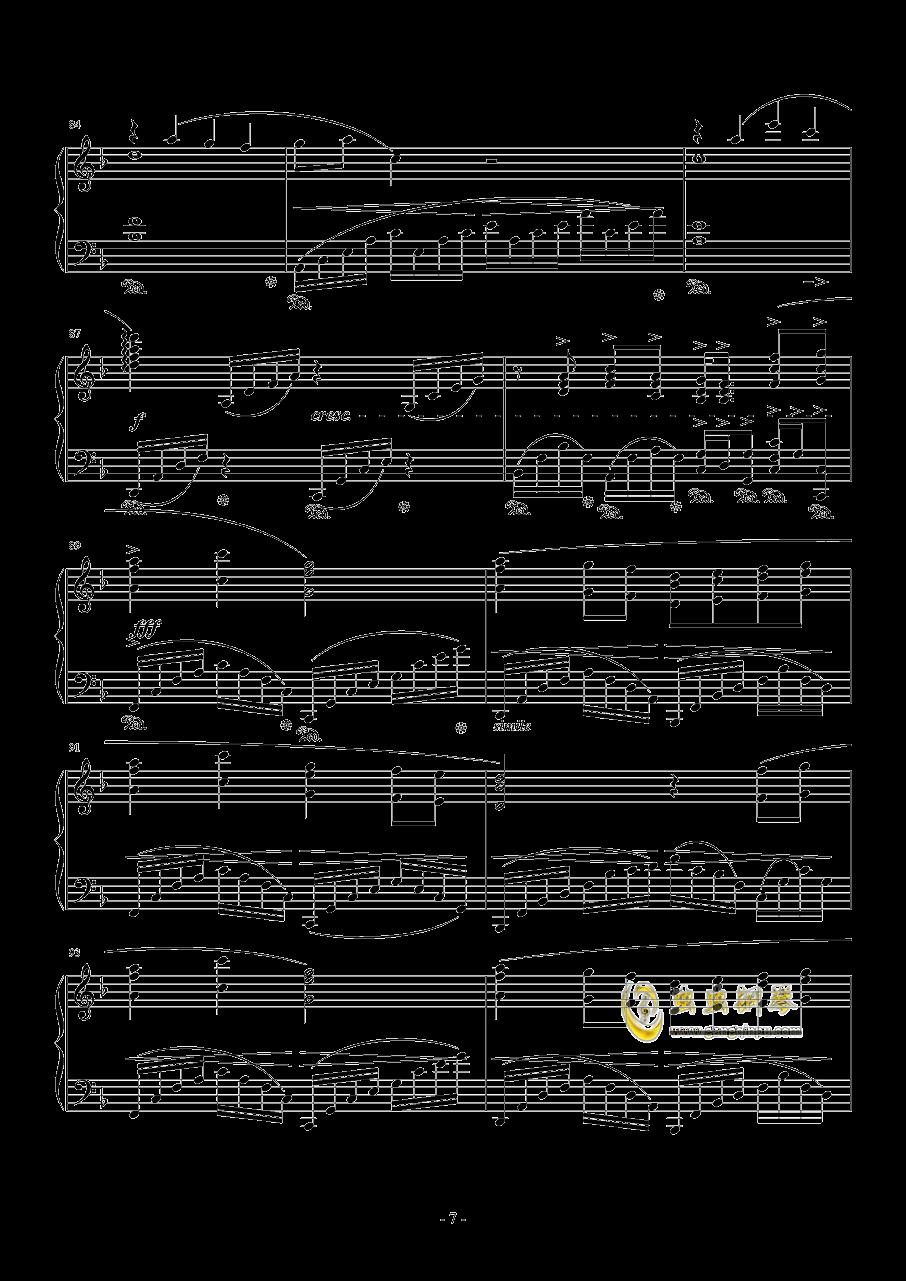 素�长坤� Orchestra Version钢琴谱 第7页