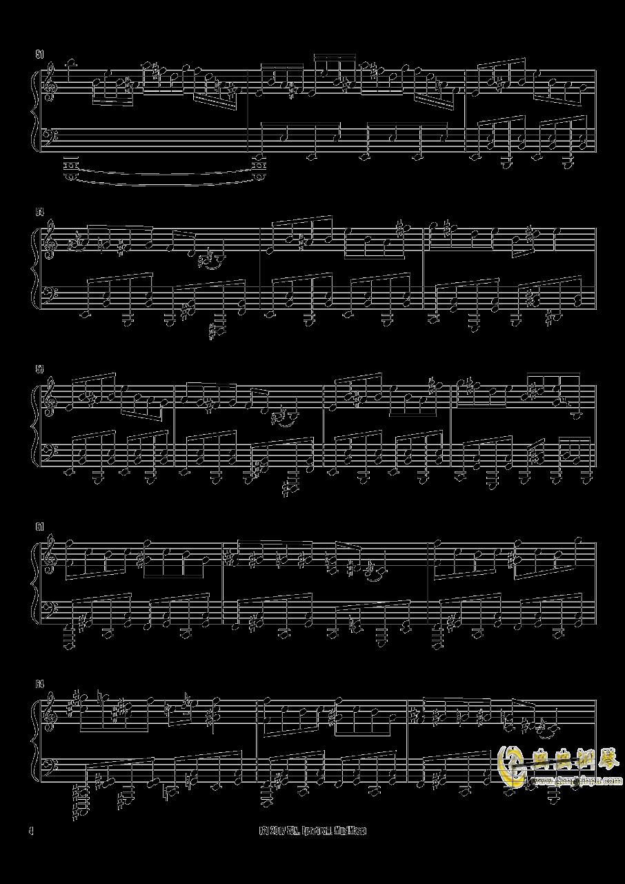 Crazy Back Dancers钢琴谱 第4页