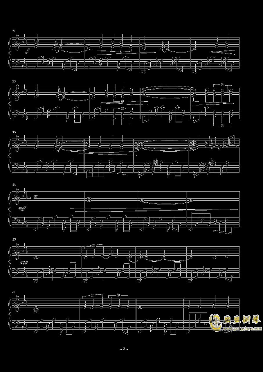 ��世界-前往的旅途钢琴谱 第2页