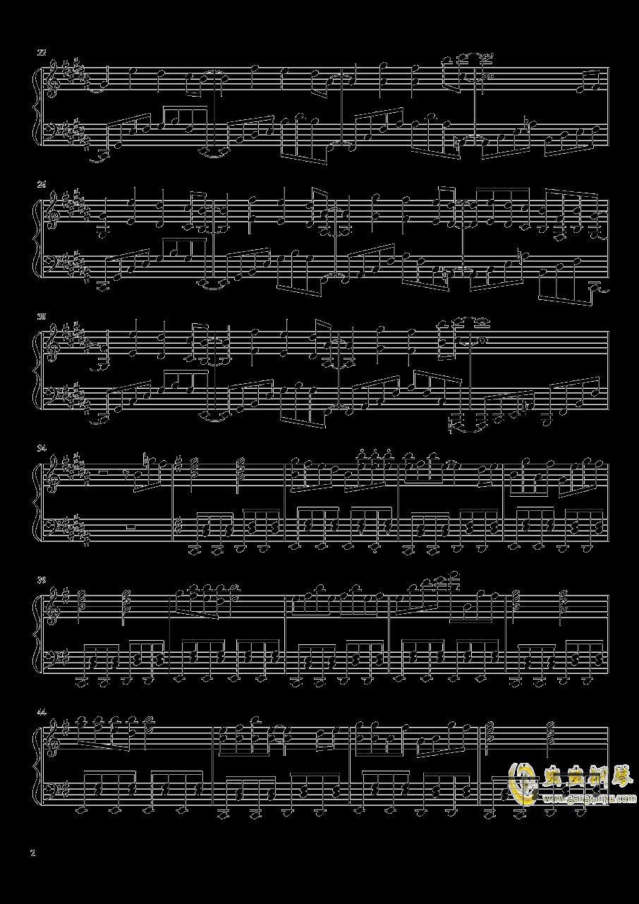 Phantom Ensemble钢琴谱 第2页