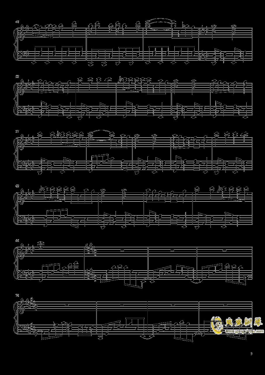 Phantom Ensemble钢琴谱 第3页