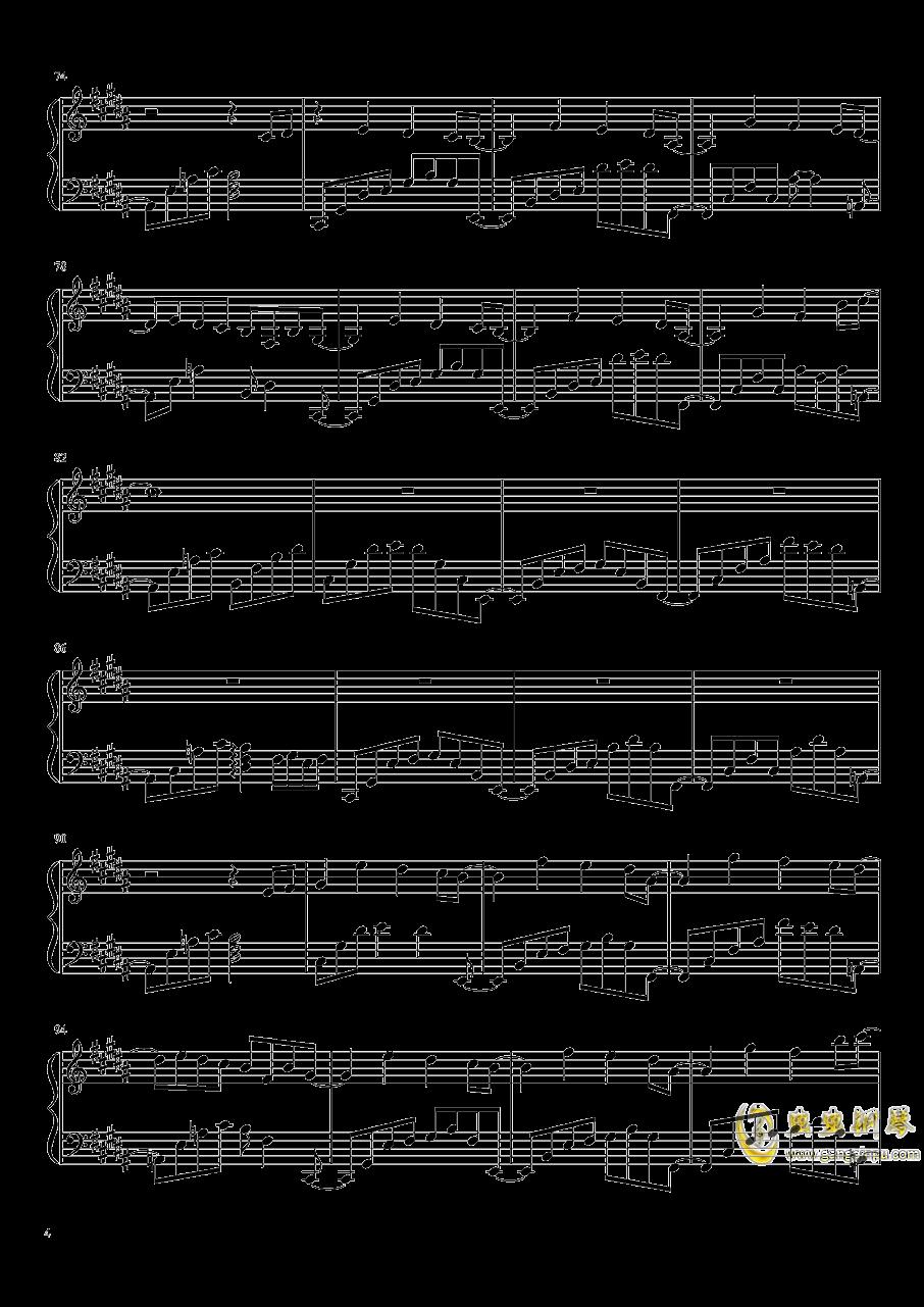 Phantom Ensemble钢琴谱 第4页