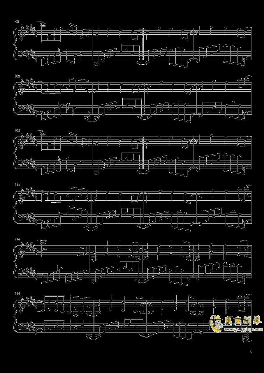 Phantom Ensemble钢琴谱 第5页