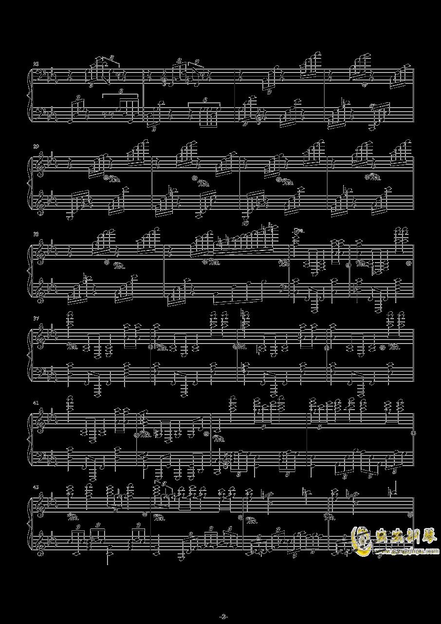 第二钢琴协奏曲第三乐章钢琴谱 第2页
