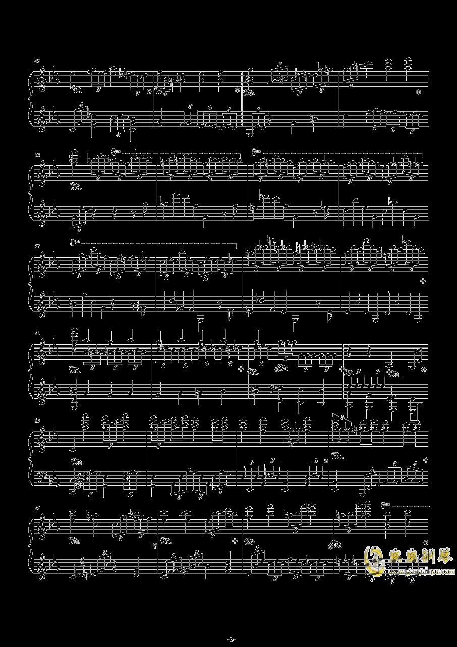 第二钢琴协奏曲第三乐章钢琴谱 第3页