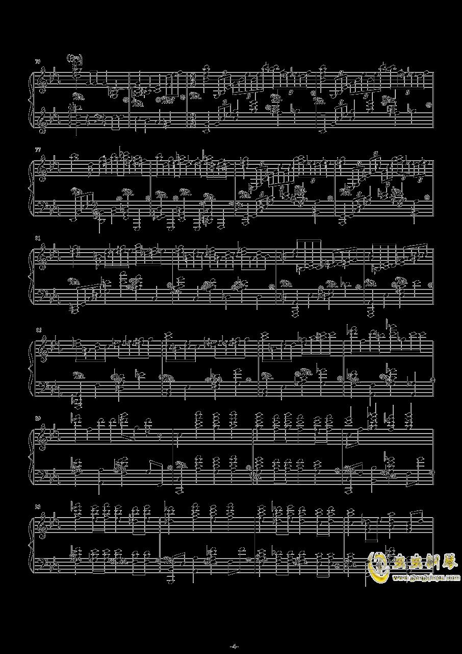 第二钢琴协奏曲第三乐章钢琴谱 第4页