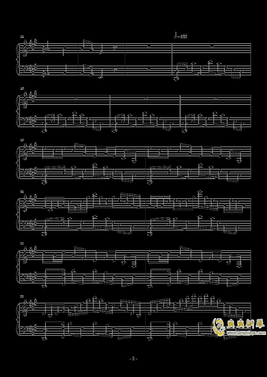 黄昏回旋曲 Op.1钢琴谱 第2页
