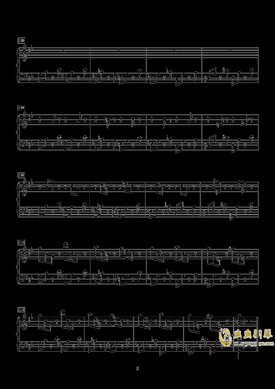小快板与变奏钢琴谱 第6页