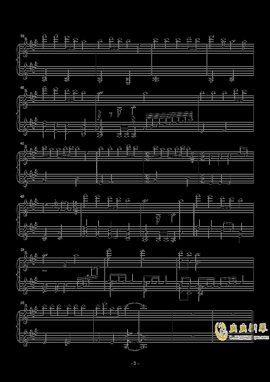 跳舞的线 圣诞前夕 The Christmas Eve钢琴谱 第3页
