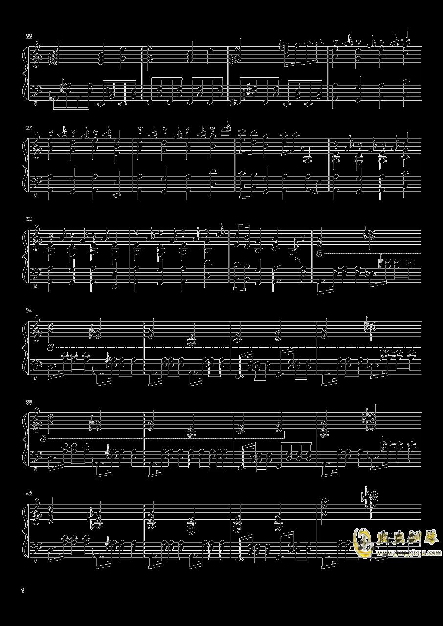 始原のビ�`ト ~ Pristine Beat钢琴谱 第2页