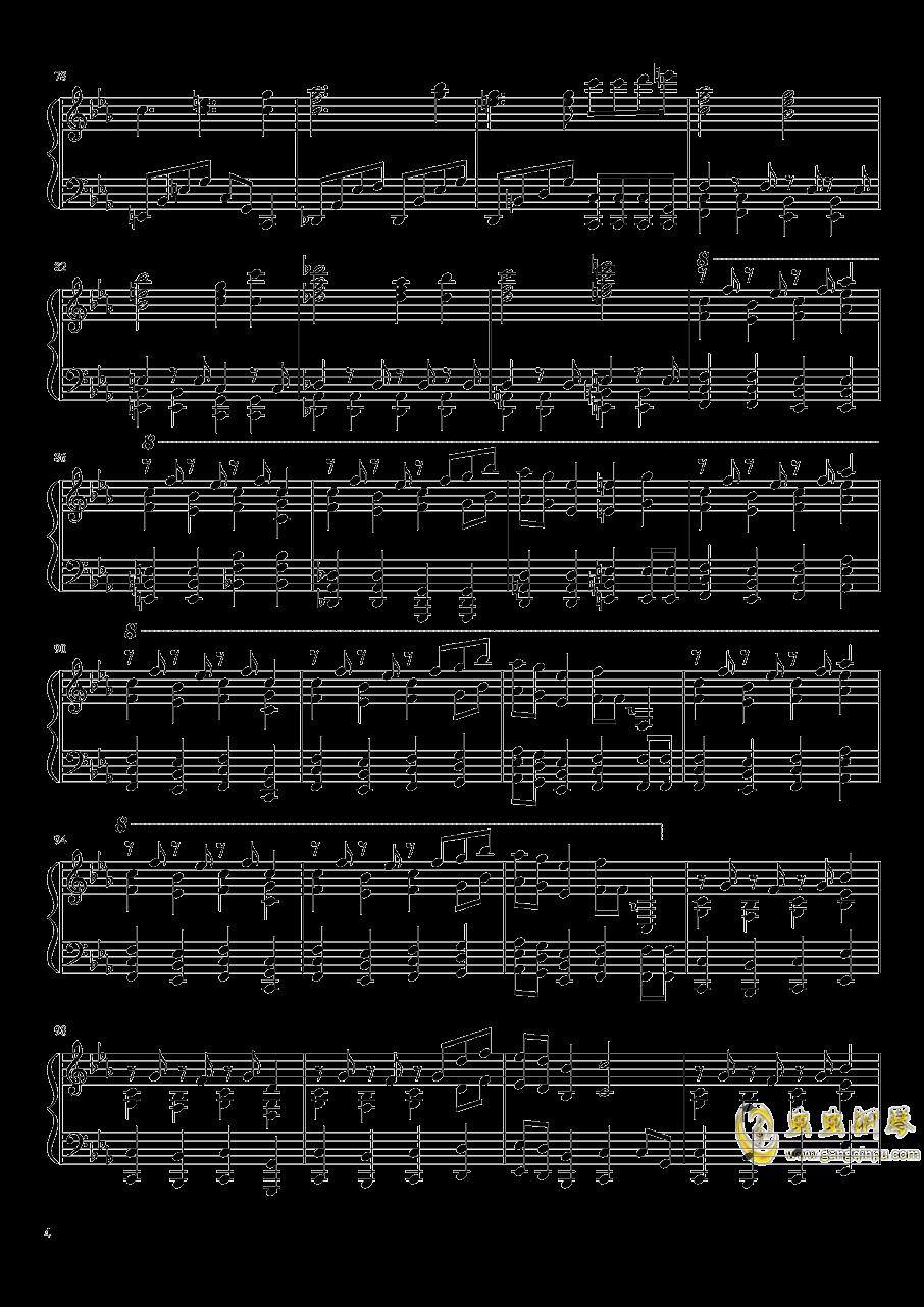始原のビ�`ト ~ Pristine Beat钢琴谱 第4页