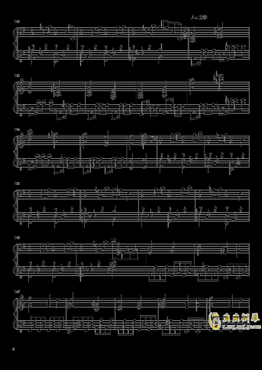 始原のビ�`ト ~ Pristine Beat钢琴谱 第6页