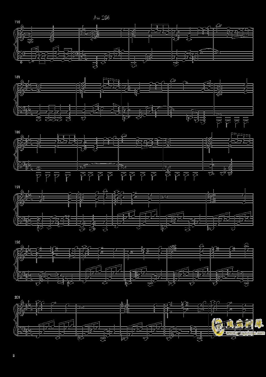 始原のビ�`ト ~ Pristine Beat钢琴谱 第8页