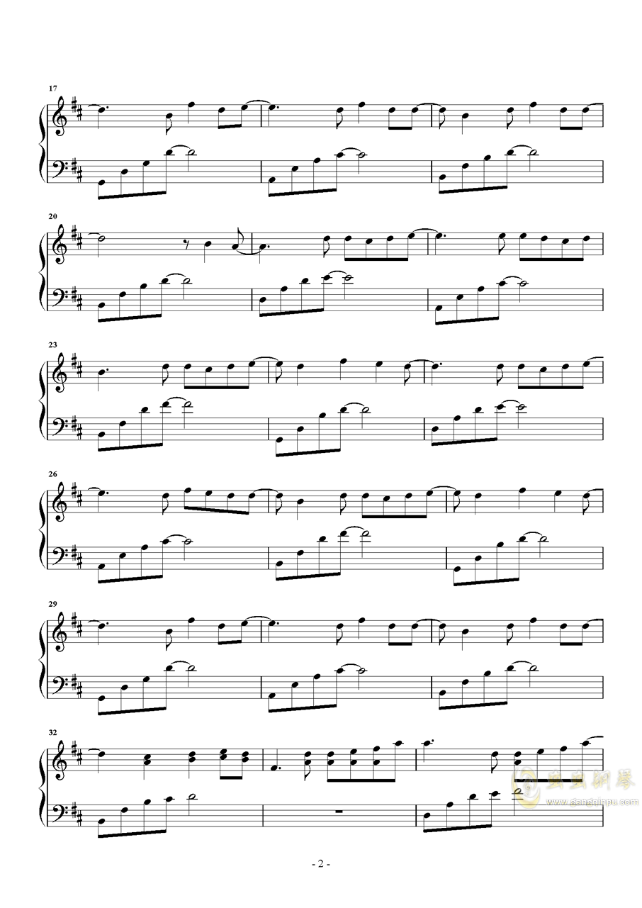 最美的期待,最美的期待钢琴谱,最美的期待钢琴谱网,最美的期待