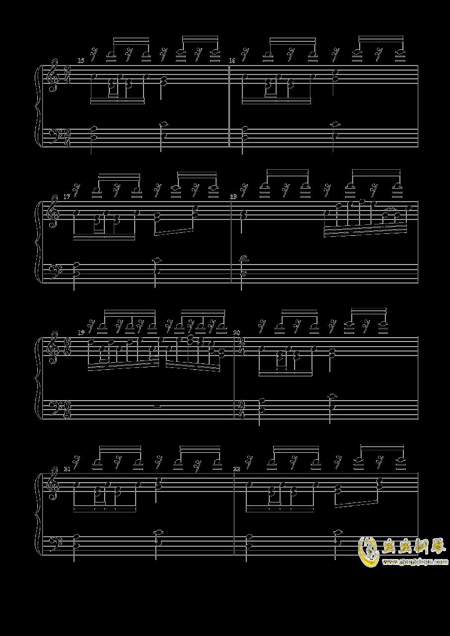 宇佐大人的白旗钢琴谱 第3页